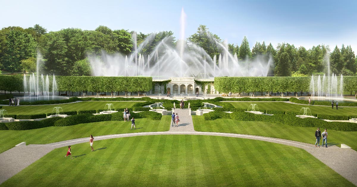 New heights longwood gardens for Longwood gardens tickets